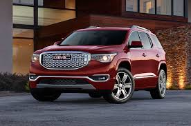 Gmc Acadia Denali Interior 2017 Gmc Acadia First Look Large Crossover Gets Smaller