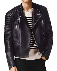 mens leather biker jacket mens leather jackets
