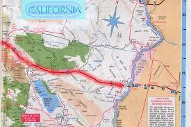 California Road Map Computermiracles Photo Keywords Map