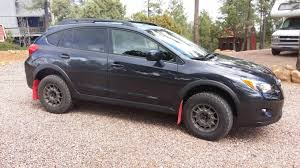 subaru crosstrek offroad anthracite color wheels on black crosstrek car customization