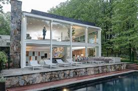 Building A House In Ct Knockout Midcentury House In Connecticut Asks 1 8m Curbed