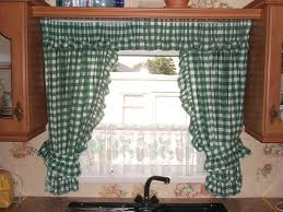 Plaid Kitchen Curtains Valances by Decor Tier Kitchen Curtains Walmart With Country Pattern For