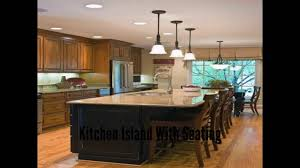 kitchen island with seating kitchen island table youtube