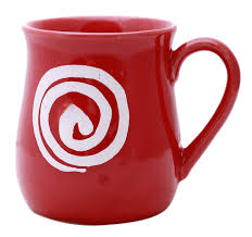 Kitchen Accessories In Red - wholesale set of 6 ceramic cup mug in red color from online