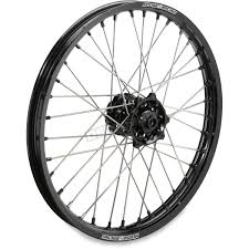 moose black 1 60 x 21 xcr wheel 0203 0567 dirt bike motocross