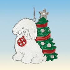 bichon frise ornaments your 1st one is free the