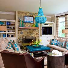 apartments cute great decorating turquoise brown ideas gallery