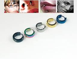 ear cuff piercing 2017 men women big dangle ear cuff earrings piercing ear