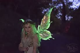 light up fairy wings fairy wing maker casts spell on cosplay community and katy perry