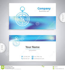Geographics Business Cards Templates Business Card Navigation Compass Maritime Symbols Company