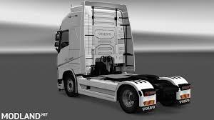 2012 volvo truck volvo fh16 2012 interior exterior rework v 1 1 mod for ets 2