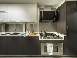 kitchen with stainless steel backsplash caring for your stainless steel fridge sink and backsplash home