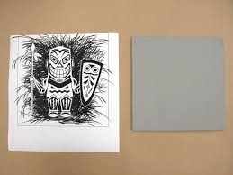 make linocuts with linoleum blocks make