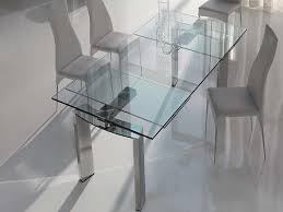 expandable glass dining table good dining room table sets on glass