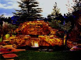 outdoor water features with lights denver pool and water feature lighting outdoor lighting perspectives