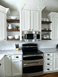 Open Shelf Kitchen Cabinet Ideas Open Corner Shelves Kitchen Lamdepda Info