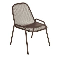 emu chaise set of 4 chairs golf jardinchic