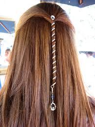 hair spirals 6 hair mini rainbow metal spiral hair wrap