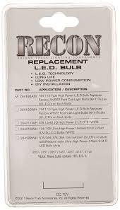 amazon com recon 264180am led bulbs automotive