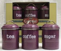 purple kitchen canisters unique canister sets foter