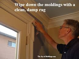 How To Paint Interior Windows How To Paint Moldings The Joy Of Moldings Com