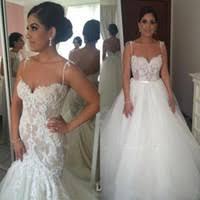 detachable wedding dress straps wholesale mermaid wedding gown detachable buy cheap