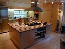 decorative kitchen islands extraordinary kitchen island oven stove with custom butcher block