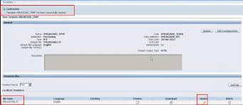 steps to create and register parameter report in oracle apps