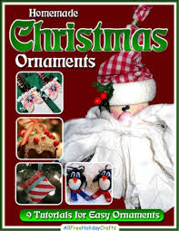 homemade christmas ornaments free ebook