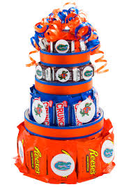 florida gators candy cake great addition to a tailgate