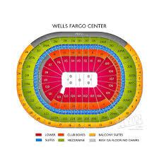 wells fargo center floor plan wells fargo center concert seating at the philadelphia arena
