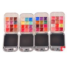 Eyeshadow Qianyu supply meis at 6 color eyeshadow 6 colors lip gloss makeup wholesale