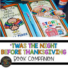 twas the before thanksgiving book companion by avery