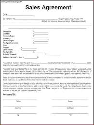 purchase contract templates sample used car sales agreement
