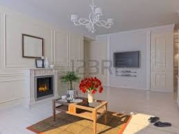 3d Interior Design Living Room Luxury Classic Style Interior Of Living Room 3d Rendering Stock