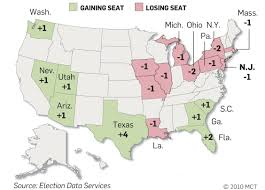 New York Times Census Map by Census 2010 Slower Population Growth Causes N J To Lose Seat In