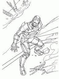 iron man coloring pages kids printable coloring 7