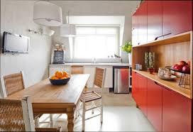 cuisine en bois cuisine et bois fabulous table cuisine bois with table