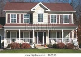 front porches on colonial homes colonial hpuse with porch new colonial or country style two