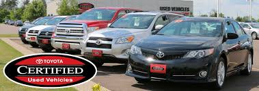 toyota certified pre owned cars tcuv toyota certified used cars near eau wi markquart