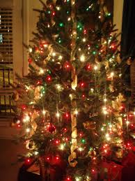 collection colored lights christmas tree decorating ideas pictures