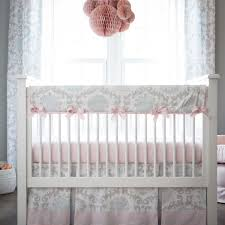 Solid Pink Crib Bedding Pink And Gray Rosa Crib Bedding Pink And Grey Baby Bedding