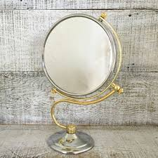 Vanity Stand Mirror Best Brass Vanity Mirror Products On Wanelo
