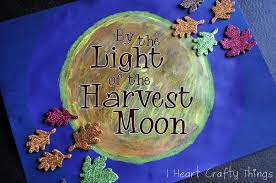 by the light of the harvest moon i heart crafty things