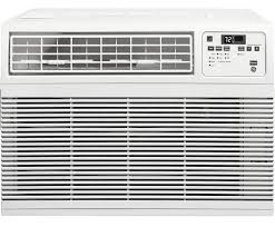 Window Ac With Heater Ge 10 000 Btu 12 2 Eer 115v Window Air Conditioner Ahm10aw