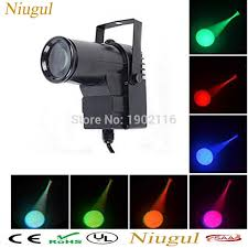 stage lighting mounting bars 10w led pinspot light dmx512 wash narrow beam pin spot lighting