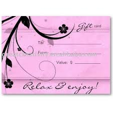 salon gift card salon gift card salon gift card suppliers and manufacturers at