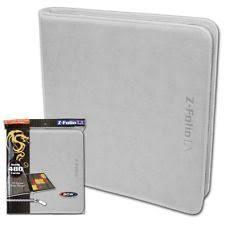 Pocket Pages Bcw Orange Zipper Z Folio Lx Binder Album With 12 Pocket Pages