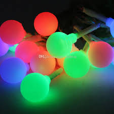 Solar Led Patio String Lights Cheap 9m 20leds Solar Led String Light Colorful Ball Light