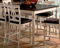 coaster camille transitional counter height dining table co 103588
